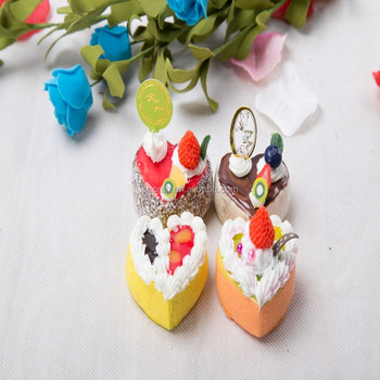 2015 New Plastic Craft Idea Polymer Clay Cute Cake Magnet Yiwu Sanqi