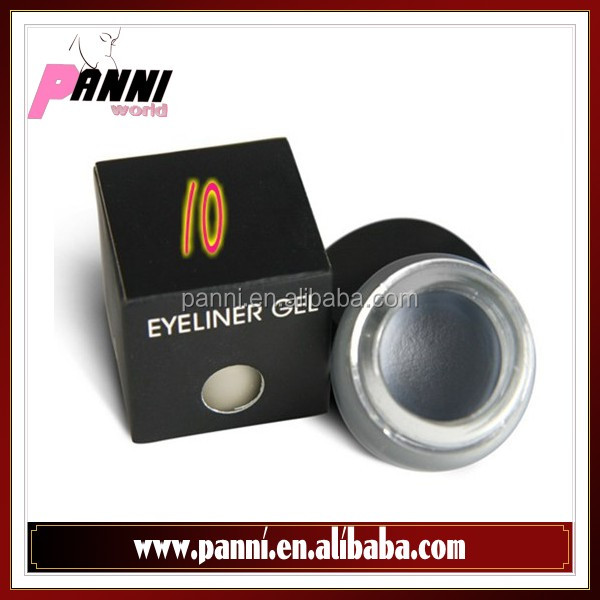 Wholesale cheap eyeliner gel makeup cosmetic waterproof True Grey eye liner