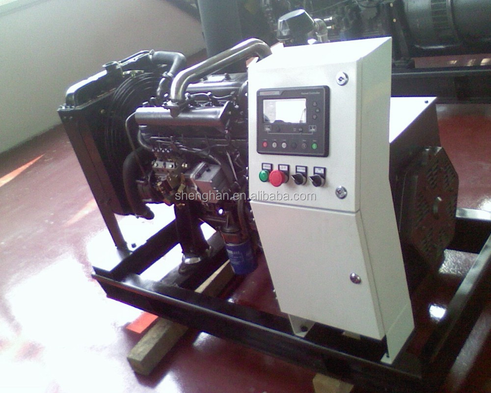 low noise 50/60Hz,3P4W 15kva gas generator set