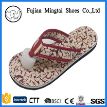 2017 china Jinjiang factory produce flip-flop the material is eva flip flop