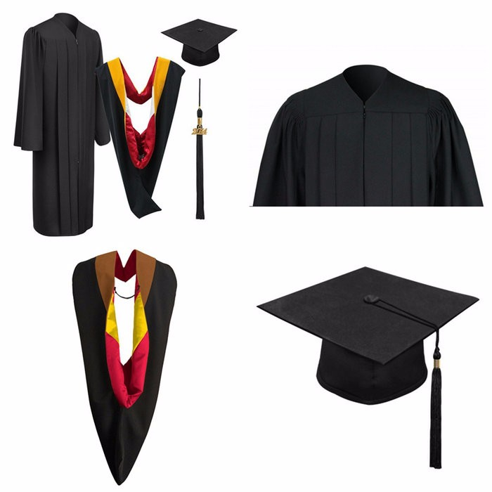 Red and Black Graduation Gowns – fashion dresses