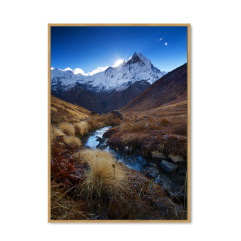 Snow Mountain Cool Printing Giclee Canvas Artwork