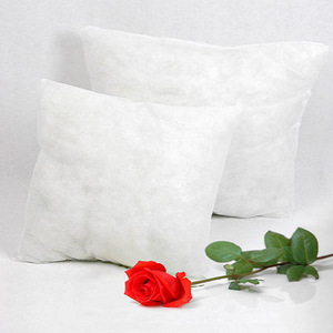 Low MOQ newest home textile custom logo plain cotton white sofa inset inner custom throw pillow cover