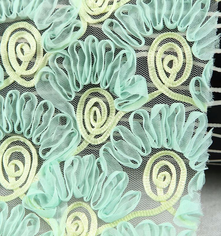 China manufacturer tape cotton embroidery guipure lace fabric
