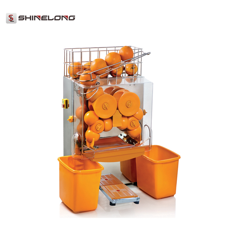 K615 Commercial Stainless Steel Industrial Automatic Electric Orange Juicer Machine