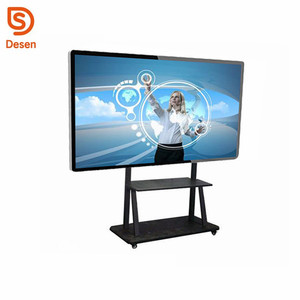 65 Inch LED Smart Board Interactive Whiteboard Touch Screen Display for Education