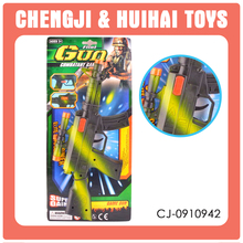 Wholesale sparkle gun toy flint gun for kids military guns