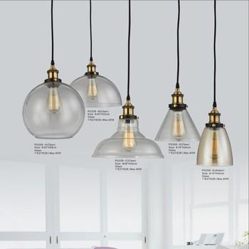 Campane Vetro Per Lampadari.Campana Di Vetro Lampade Di Illuminazione Loft Epoca Ciondolo