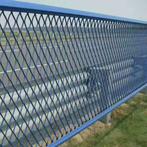 Beautiful PVC coated Expanded metal sheet for fence and protection