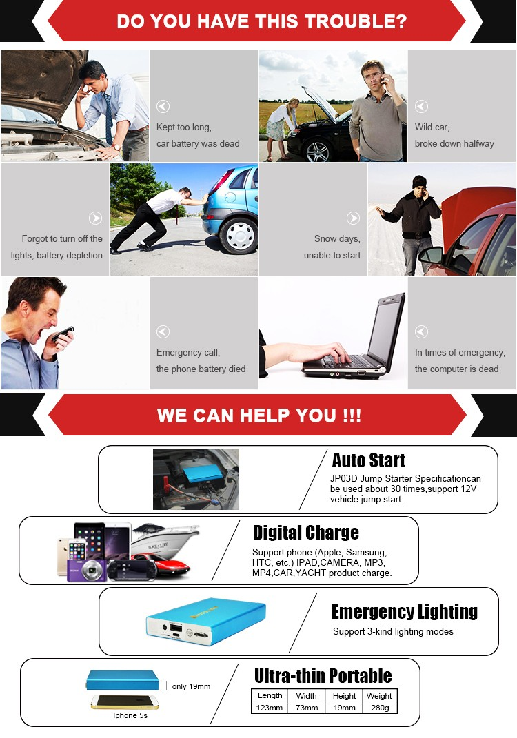 newest high quality 10000mah bule car battery jump starter power pack mini booster buy battery. Black Bedroom Furniture Sets. Home Design Ideas