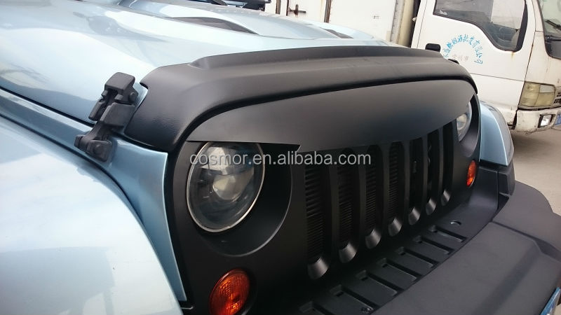 Jeep Wrangler 2007 Current Angry Grill Abs Plastic Jeep