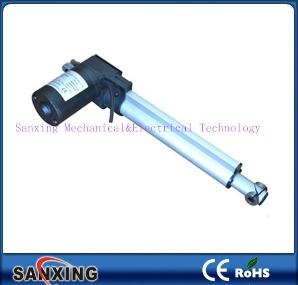 Aluminum Alloy Spindle Linear Actuator With Dc Motor For Hospital ...