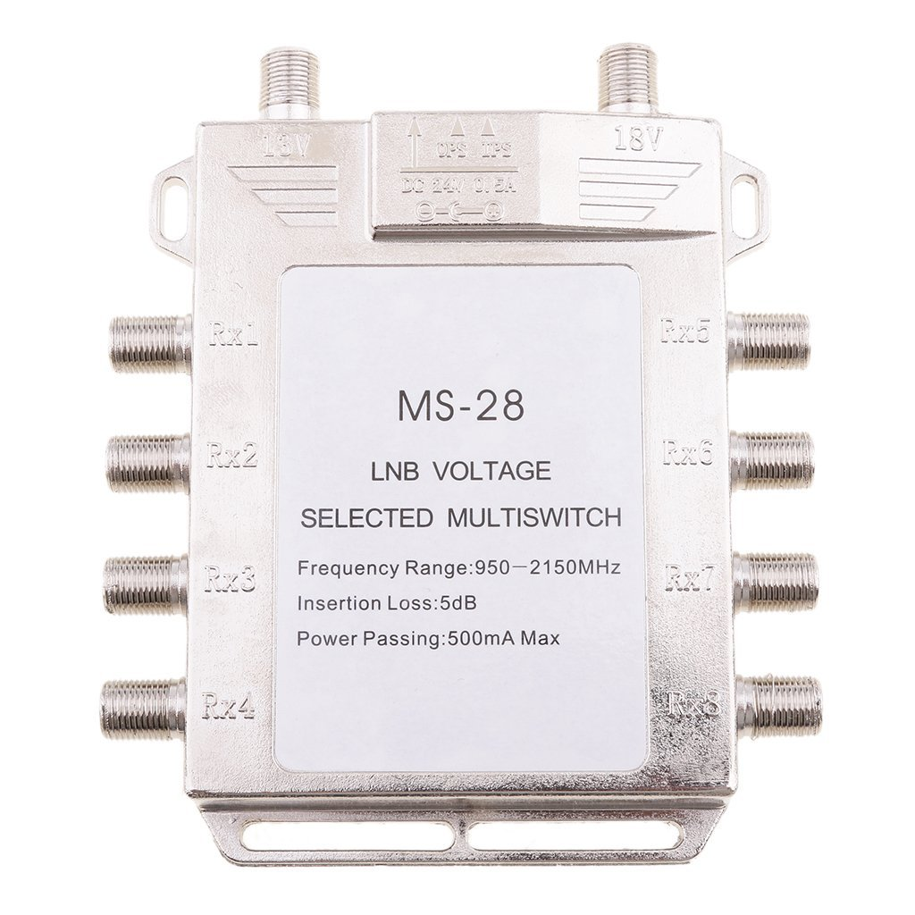 Get Quotations MagiDeal 2x8 Way Multiswitch 2 In 8 Out Multi Switch