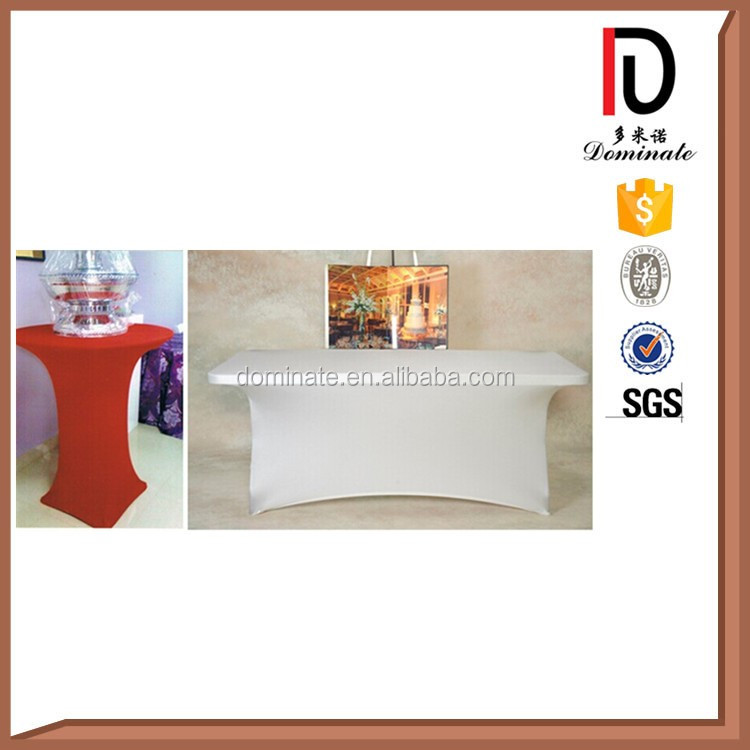 Wholesale Various colors fitted cocktail spandex table cover
