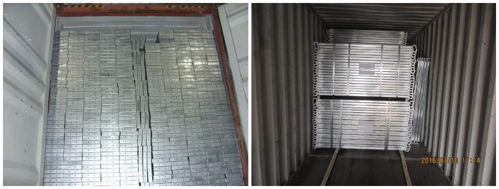 Galvanized Steel Scaffolding : Galvanized scaffolding metal plank aluminum