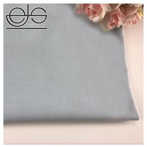 2018 Polyester Knitting Fabrics Grey Velvet Upholstery Cloth For Sale