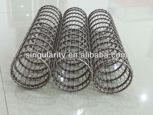 Stainless steel textile bobbin