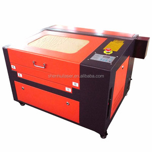 small size and high performance 4040 laser printer for wood acrylic leather