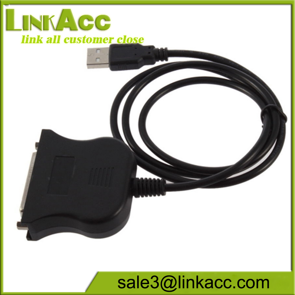 USB2.0 to IEEE 1284 25 Pin DB25  Parallel Printer Female Cable Adapter Cord