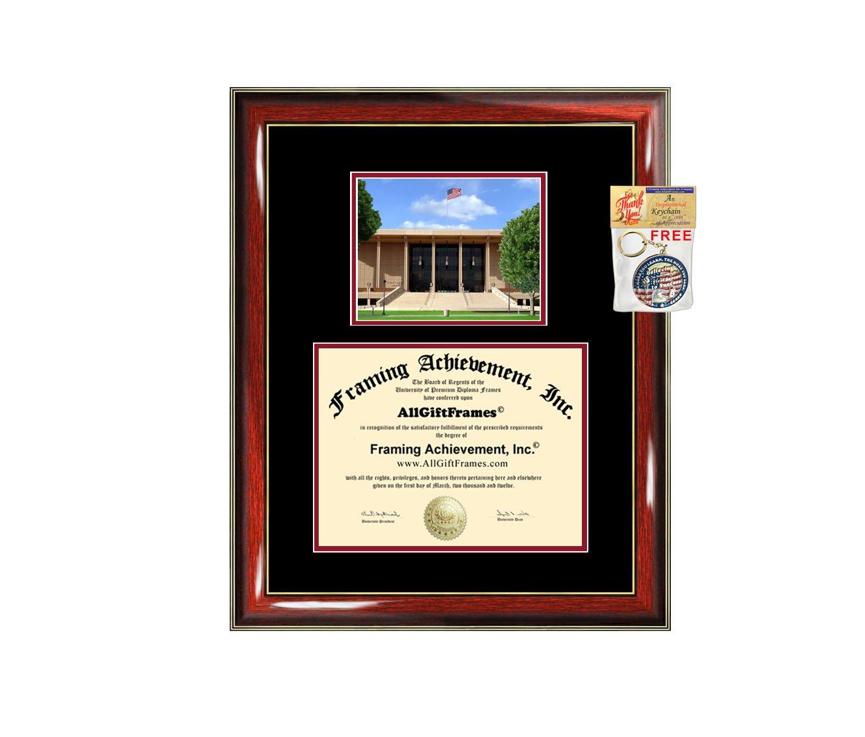 California State University Northridge Diploma Frame - CSUN Graduation Degree Frame - Matted College Photo Graduation Certificate Plaque Framing Graduate Gift Collegiate