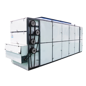 Guoxin food processing equipment large mesh belt continuous corn dehydrator
