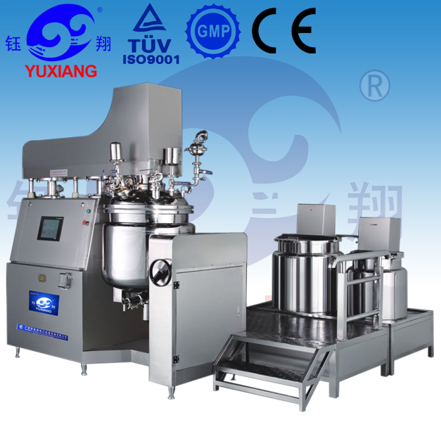 RHJ sun block vacuum emulsifying machine