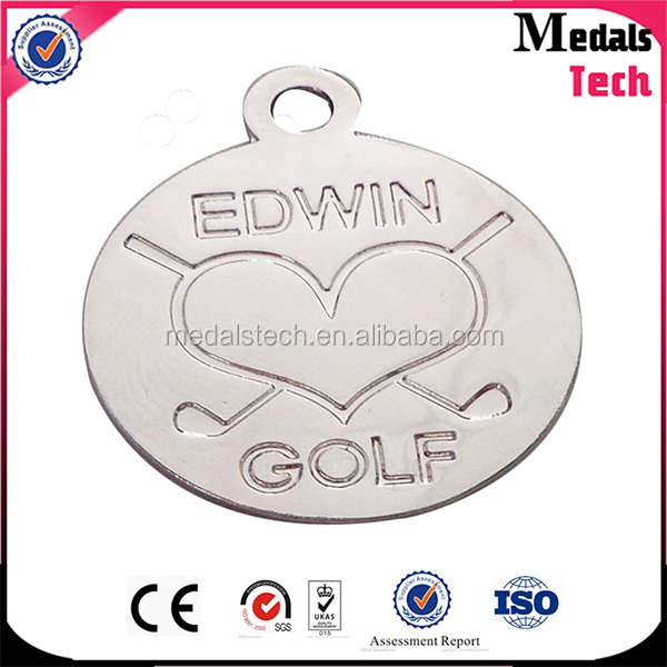 Wholesale Factory Prices Personalized Metal Engraved Cheap Name Necklace Charm
