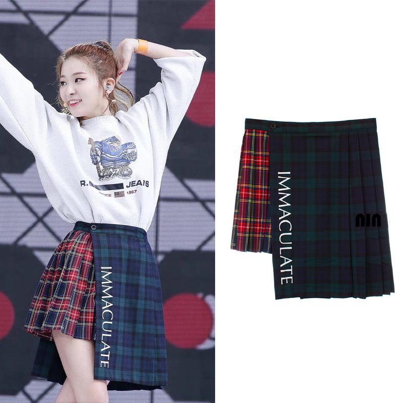 Red Velvet Skirt 83