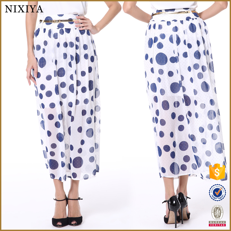 Polka dots long skirts pictures of long skirts and tops