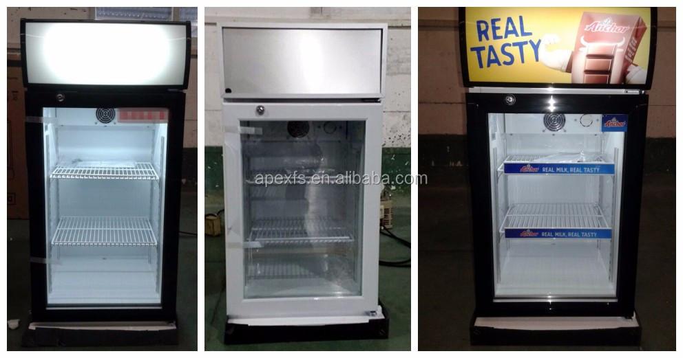 Kleiner Kühlschrank Real : Liter tabletop kommerziellen display kühlschrank mini
