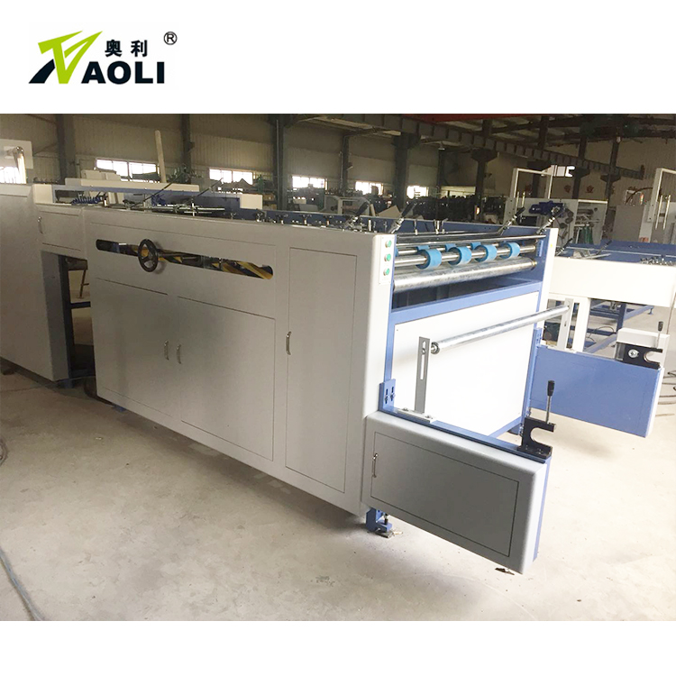 Automatic BOPP OPP PE film laminated paper sheet separating machine plastic film sheet slitting machine die cutting Machine