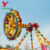 Fairground Outdoor Amusement Park Equipment Machine Attraction Thrill Spinning Hammer Crazy Swing Big Pendulum Ride For Sale