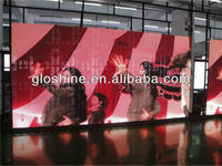 Sexy girl video LED display Gloshine P8.93 outdoor LED didplay screen