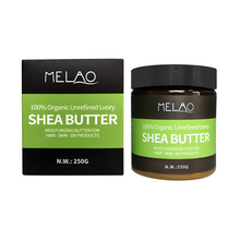 Private Label Hot Koop Melao Geen Additieven 100% Herbal Pure Biologische Hydraterende Shea Butter <span class=keywords><strong>Bulk</strong></span>