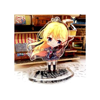 Printing Custom Anime Acrylic Keychain Violin Girl Animation Clear  Plexiglass Display Standee Small Otaku Collection - Buy Printing Custom  Anime