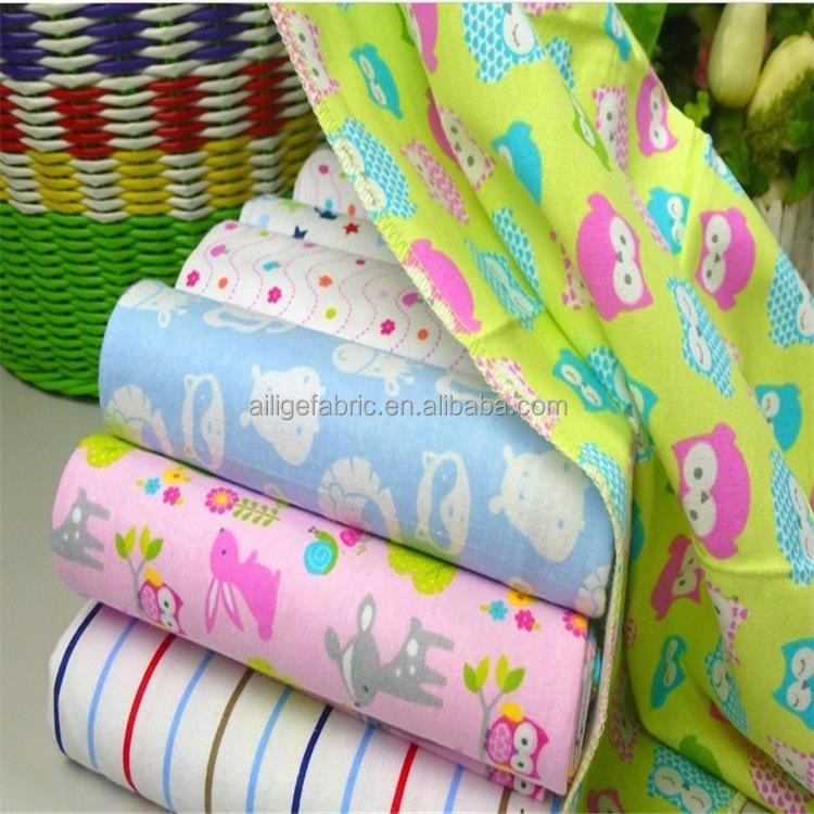 hot sale otton plain dyed fabric 100 cotton flannel 20*10*40*42 wholesale cotton brushed fabric for baby clothes