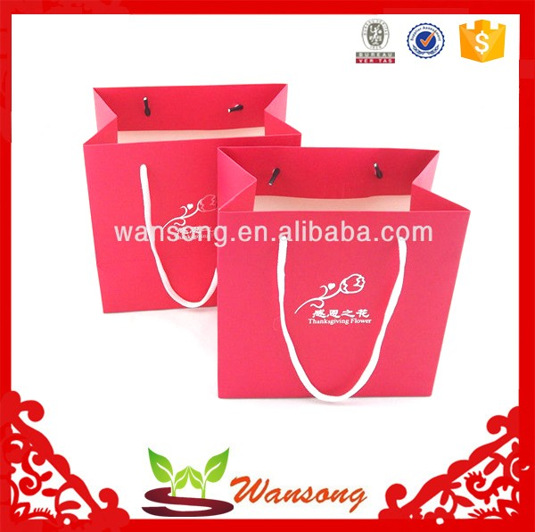 Unique Fancy Handmade Bulk Printing Cheap Paper Shopping Gift Bags ...