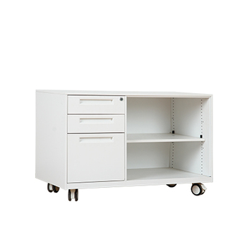 Australia Hot Steel Rawers Moving File Cabinet With Wheels Under Desk 3 Drawers
