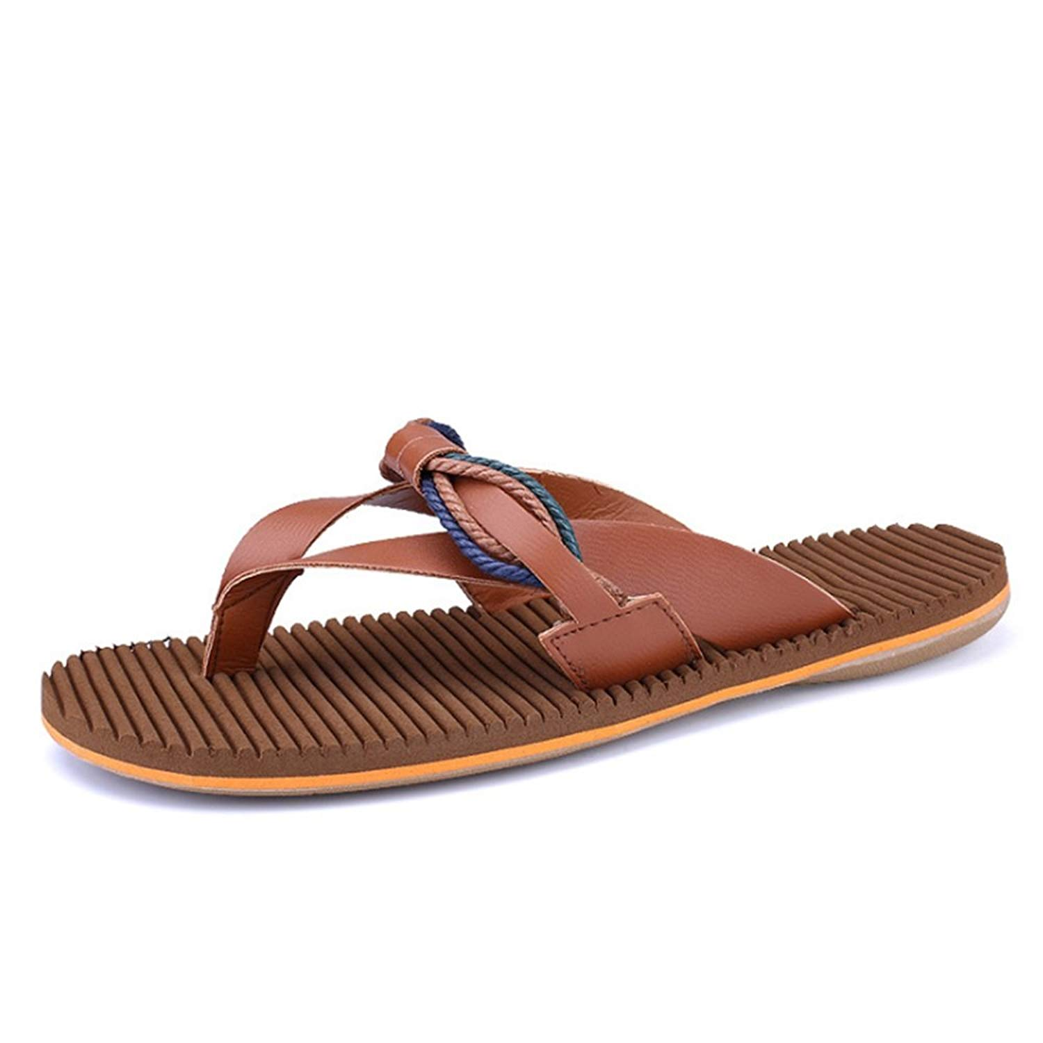 Wagsuyun Summer Slippers Men's Outdoor Sports Quick-Drying Slippers Beach Casual Non-Slip Sandals