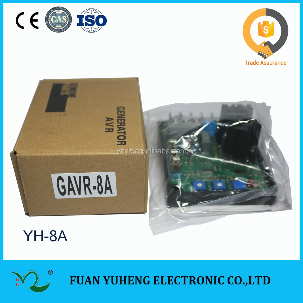 Gavr 8a Brushless Alternator Generator With Avr Circuit Diagram For Wiring