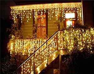 get quotations led window curtain light 4m06m 96 led string lights great for christmas home wedding - Led Christmas Window Decorations