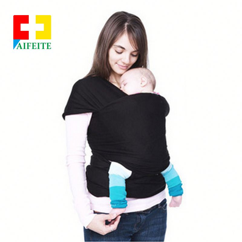 LAT cheap New infant stretchy newborns cotton bamboo organic bag stretchy wrap ring carriers baby sling