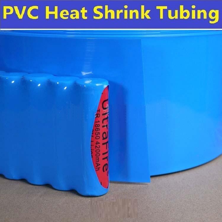 Lay Flat Pvc Heat Shrink Tubing Wrap 40mm 216 25 15mm Clear