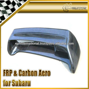 For SUBARU Impreza GC8 97-00 STI Carbon Fiber Rear Spoiler Wing