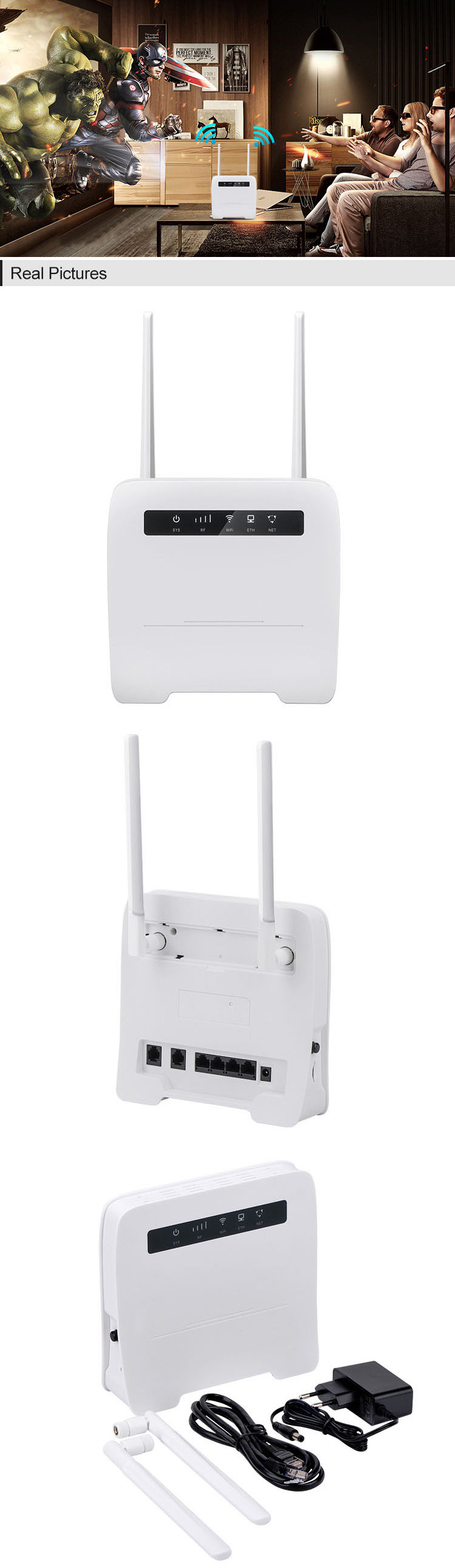 High Range Outdoor Long 192.168.169..1 500 Meter 192.168.1.1 4 Port Best 300m Wireless Router