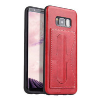 Case for Samsung Galaxy S8 Plus phone case Genuine Leather Back Cover Card holder Coque for Samsung Galaxy S8 Case