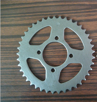 CD70 41/14T 420 104L Pakistan motorcycle chain and sprocket