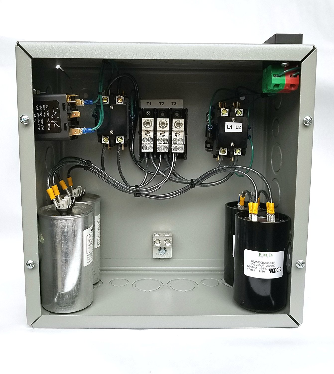 15hp 3 Phase Rotary Converter Panel