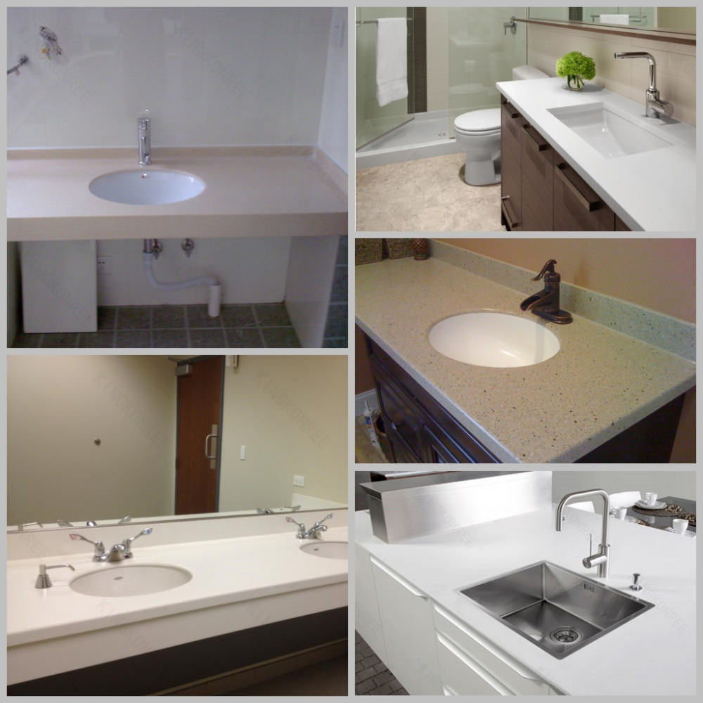 Man Made Solid Surface Onposite Wholesale Solid Surface Countertop Material Buy Man Made