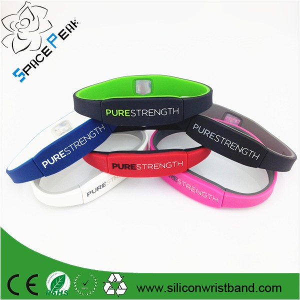 OEM Cheap 2017 X power negative ions energy band bracelet Silicone bracelets  xpower